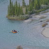 Rafting on the Bow river