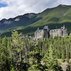 Banff Springss Hotel. A luxury hotel that was built during the 19th century as one of Canada's grand railway hotels, being constructed in Scottish Baronial style and located in Banff National Park