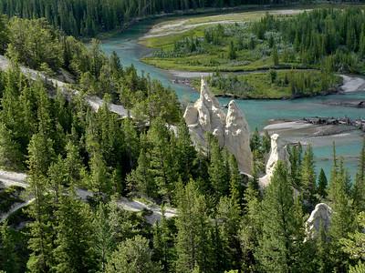 Banff, Bow River, Hoo Doos, Luxton Museum, Peyto Lake