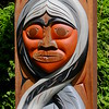 Totem Poles in Stanley Park, Vancouver
