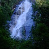 Shannon Falls is composed of a series of cliffs, rising 335 metres above Highways 99, making it the third highest falls in the province,