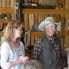 Ginny and Randy talk about the history of the ranch