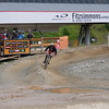 Ski slopes become mountain biking trails in the summer months
