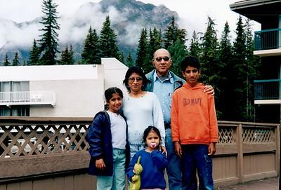 Canadian Rockies - Jul. 2001