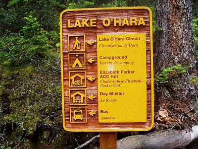 Canadian Rockies, Lake  O'Hara 2005