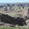 Some rugged badlands.
