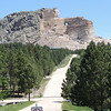 Carving a mountain: Present progress on Crazy Horse monument.