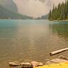 Kayak and Lake Moraine