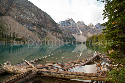 Moraine Lake, an iconic view in Canada