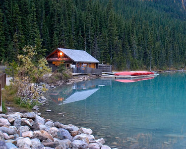 The Boat House, Lake Louise