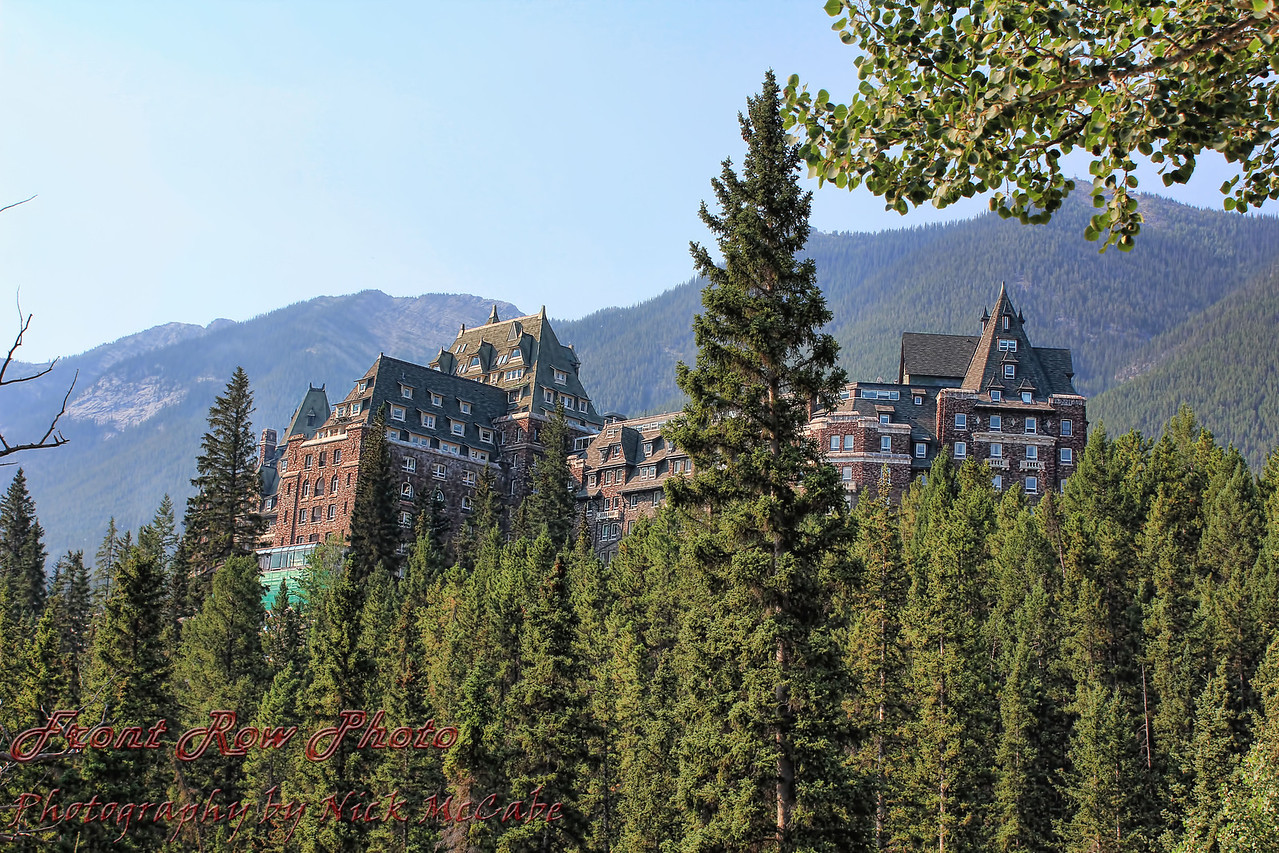 The Fairmont Banff.
