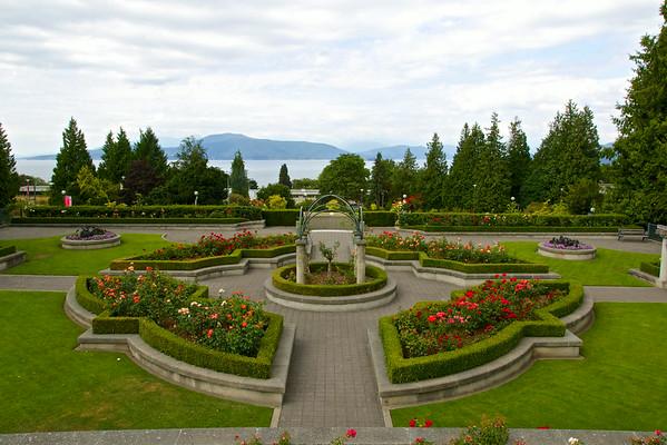 Rose Garden, UBC