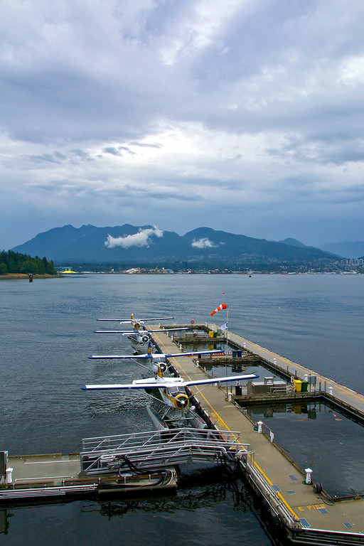 Float Planes at Canada Place
