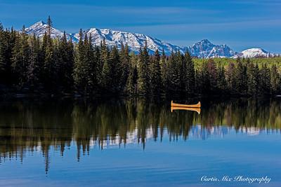 Pyramid Lake, Jasper.