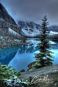 Moraine lake.