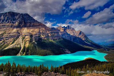 Peyto Lake, Banff N.P. Alberta, Canada.