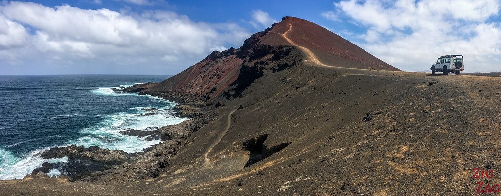 Off the beaten path in Lanzarote - Volcano and sea