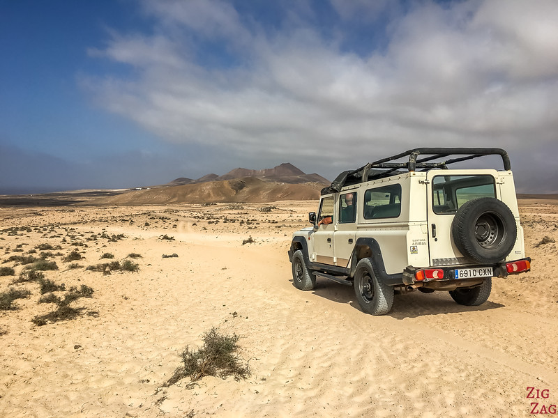 Offroad in Lanzarote