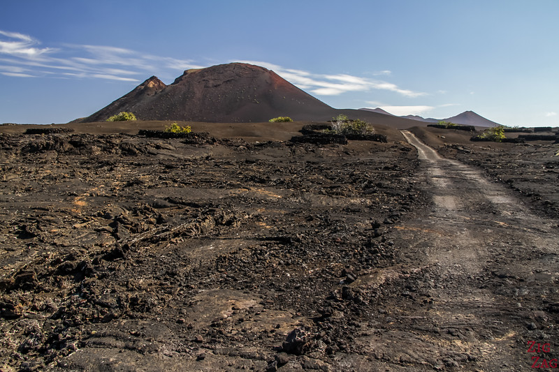 Tremesana Timanfaya National Park Walking Tour - path