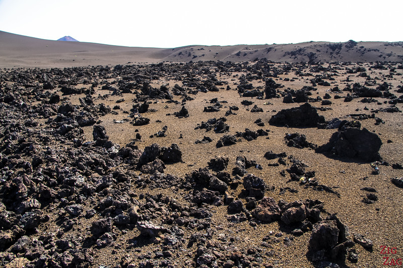 Tremesana Timanfaya National Park Walking Tour - lava rocks