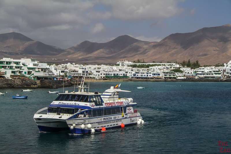 Express Ferry from Playa Blanca Lanzarote to Corralejo Fuerteventura
