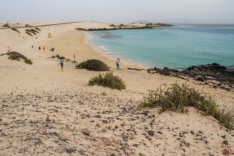 Best beaches in Fuerteventura - Corraleo sand dunes