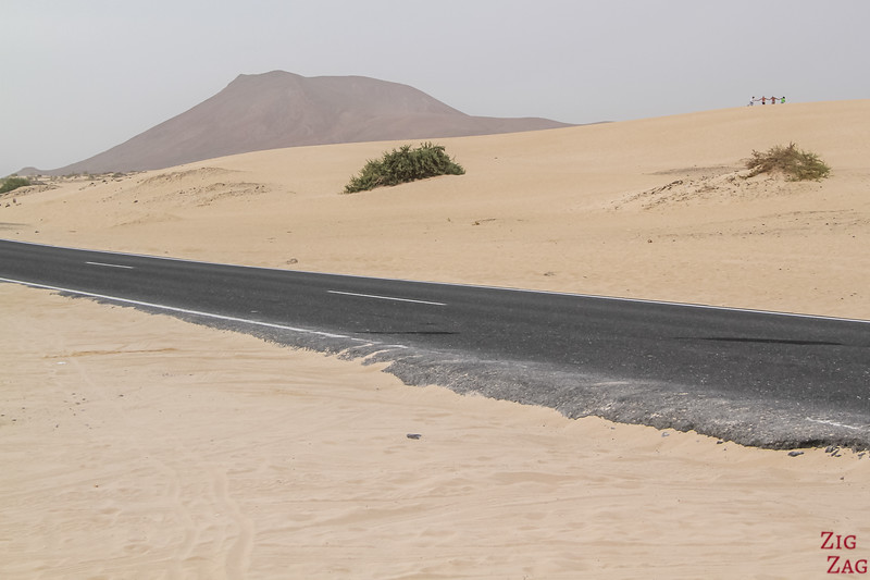 Sand dune tour of Fuerteventura from Lanzarote