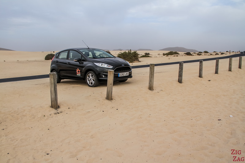 Rental car in Fuerteventura