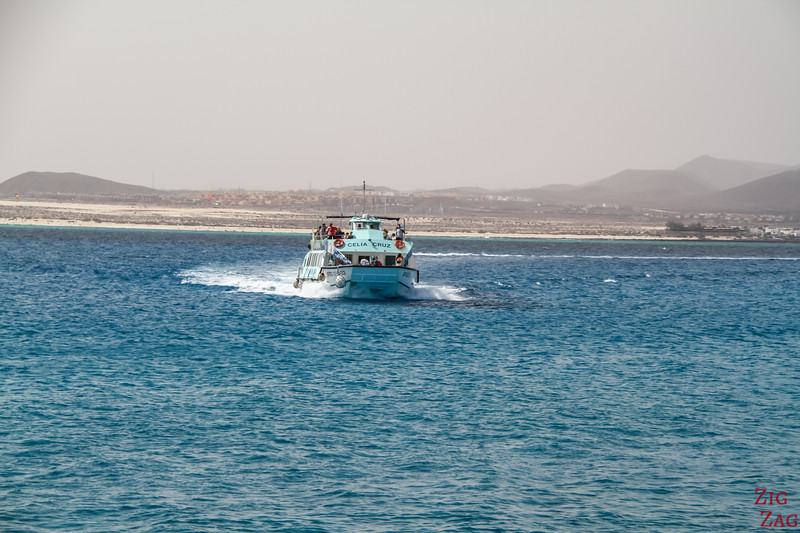 How to get to Lobos island from Fuerteventura