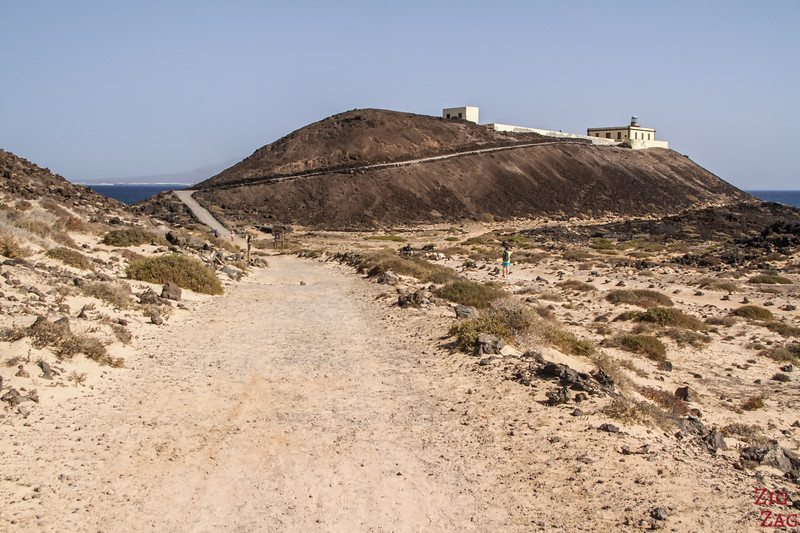 Faro Martino Lighthouse - los lobos island