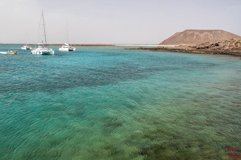 How to get to Lobos island from Lanzarote