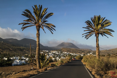 La Corona - Volcano in South Lanzarote