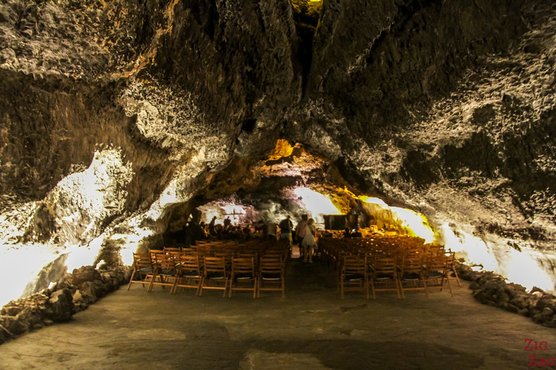 Concerts in the Caves of Lanzarote amphitheater