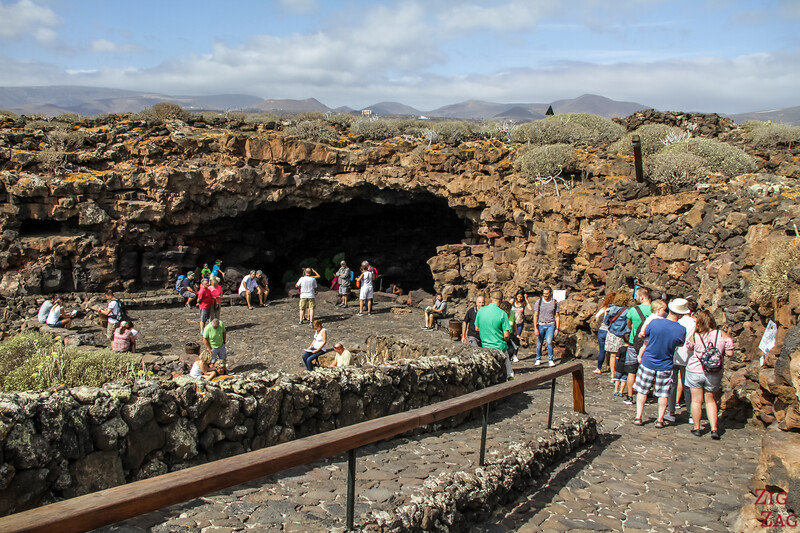 Entering the Lanzarote Caves 1
