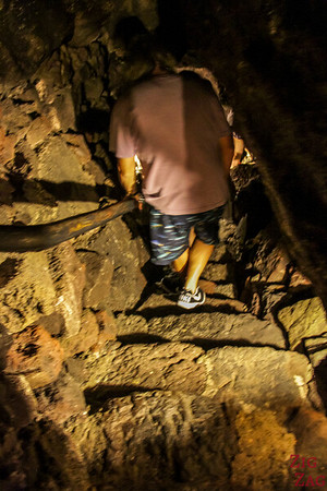 Entering the Lanzarote Caves 5