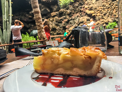Jameos del Agua Restaurant - food dessert
