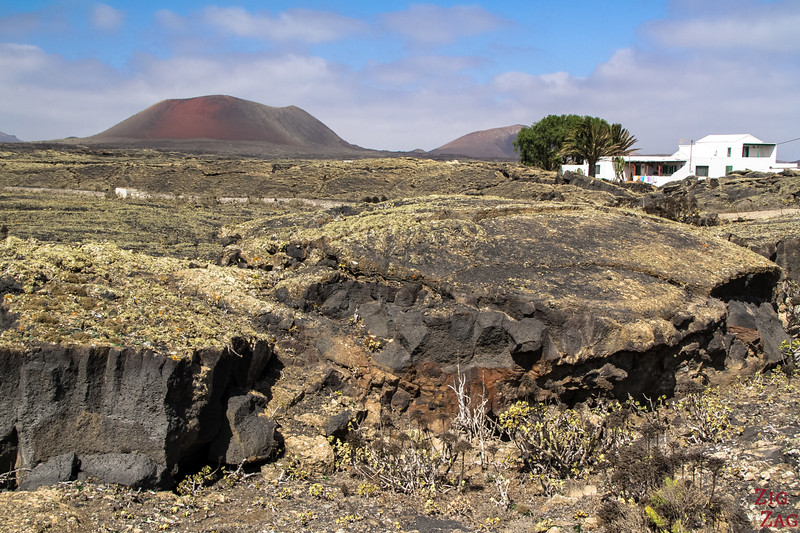 Driving in Lanzarote off the beaten path