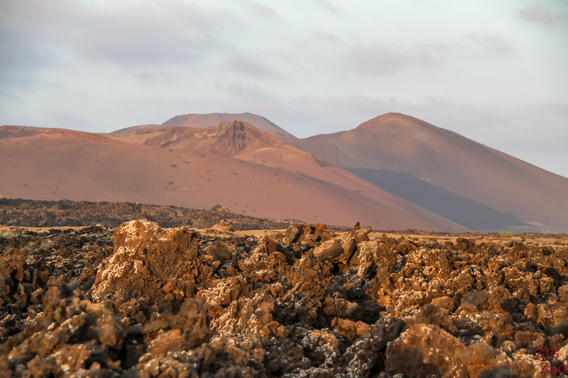 Fire mountains Lanzarote