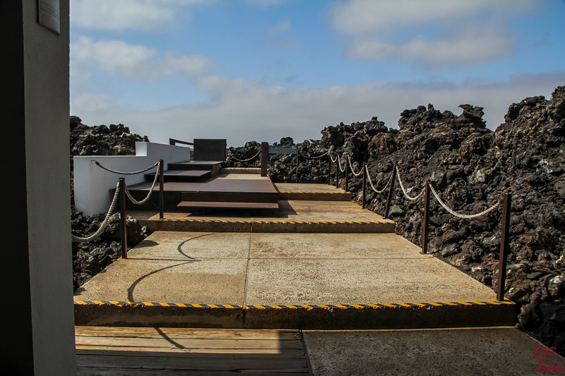 Timanfaya Visitor Center - panorama platform