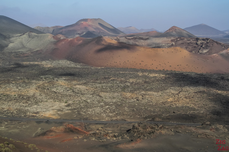 How many volcanoes in Lanzarote