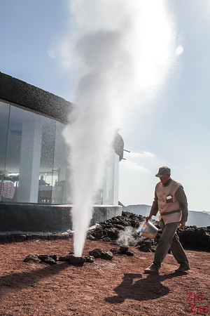 Timanfaya National Park demonstrations