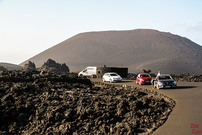Timanfaya National Park by car - entrance booth