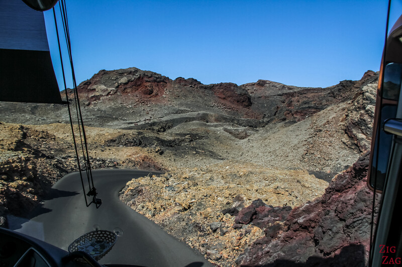 Timanfaya Nationalpark Tour mit dem Bus 4