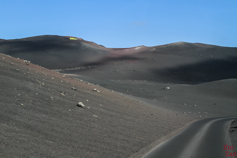 Bus tour in Timanfaya, Lanzarote
