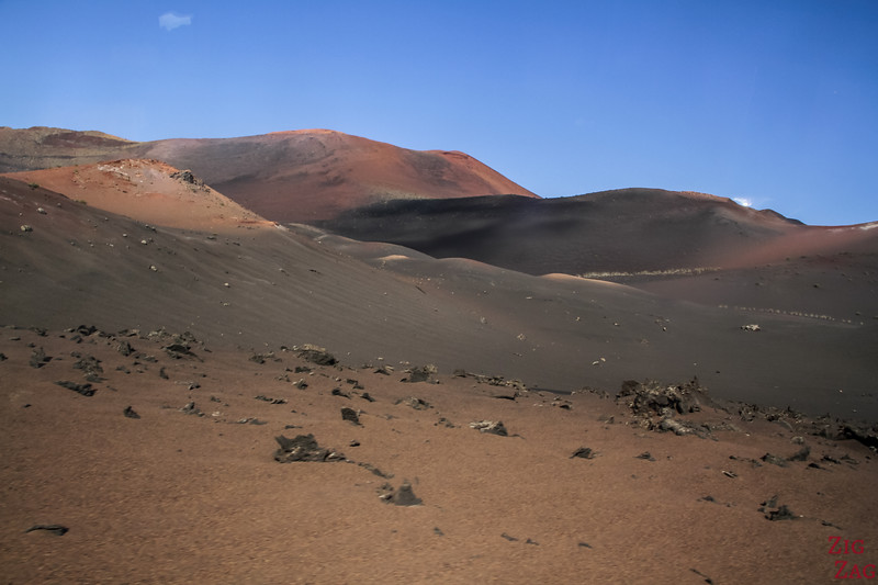 Timanfaya National Park Fire mountains Lanzarote Volcanos