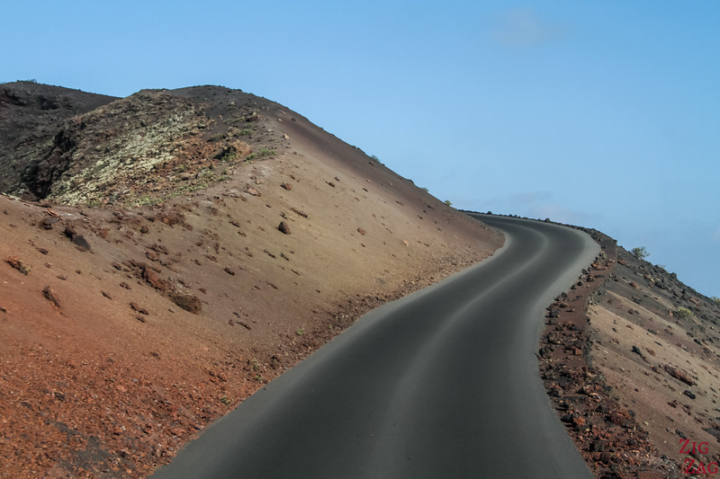 Lanzarote Timanfaya National Park Bus Tour - Volcano Road