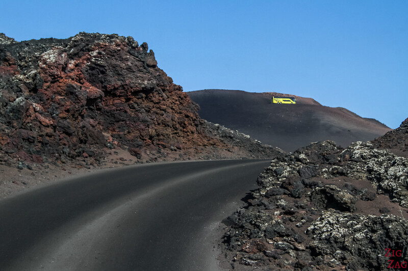 Timanfaya National Park Fire mountains Lanzarote Tour Volcanos