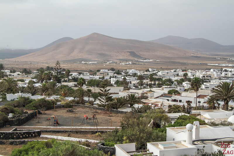 view from Lagomar Lanzarote