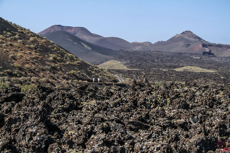 Los Volcanes Natural Park Lanzarote - View from Los Rodeos