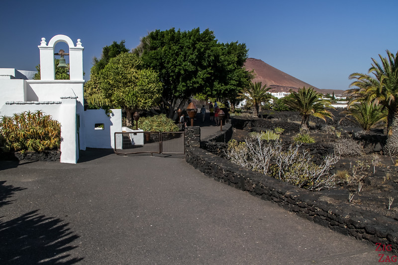 Lanzarote Foundation César Manrique Entrance